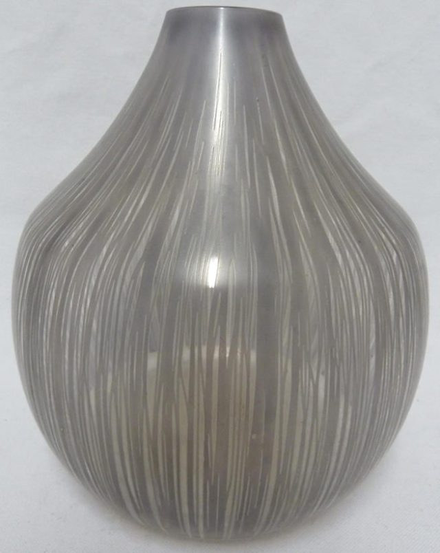 Bohumil Elias - a bulb form glass vase
