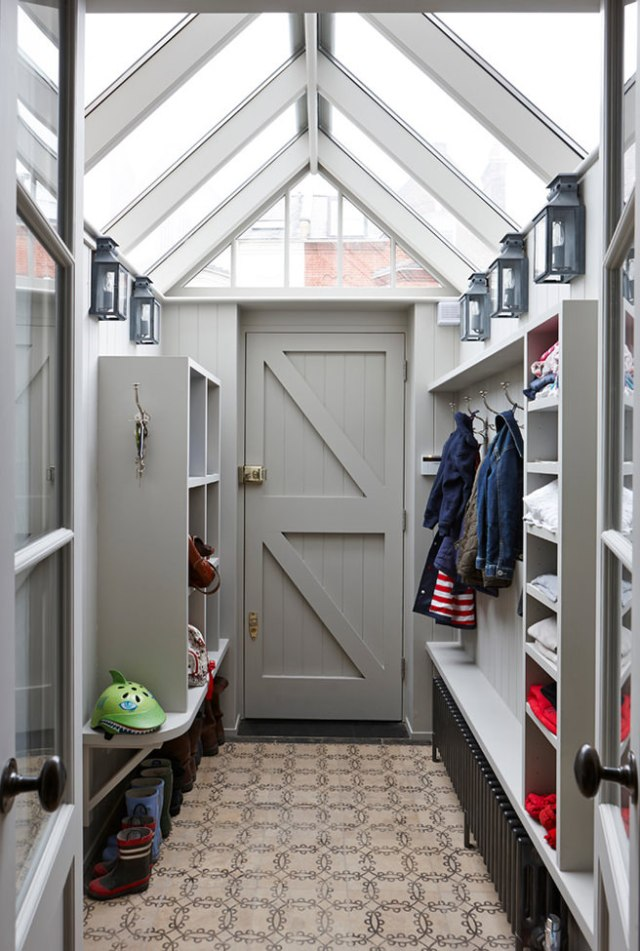 Family-friendly boot room