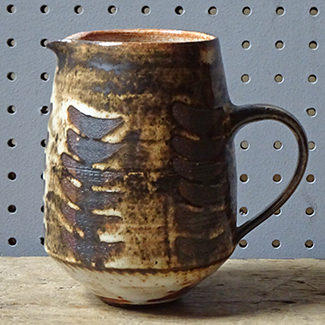 Vintage Briglin Pottery jug | H is for Home