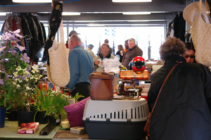 Bric-a-brac for sale on Todmorden Flea Market