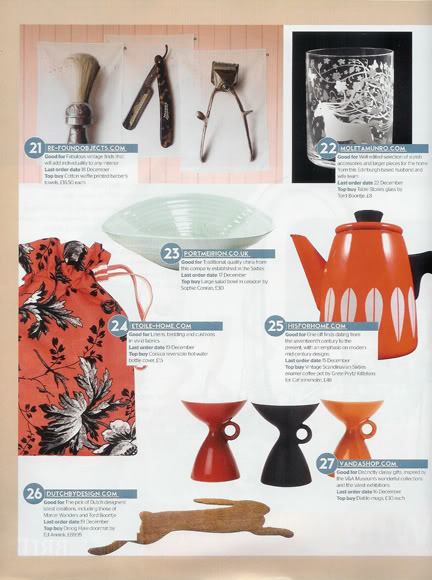 H is for Home item in Grand designs article, January 2008