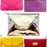 Gimme Five! Clutch bags