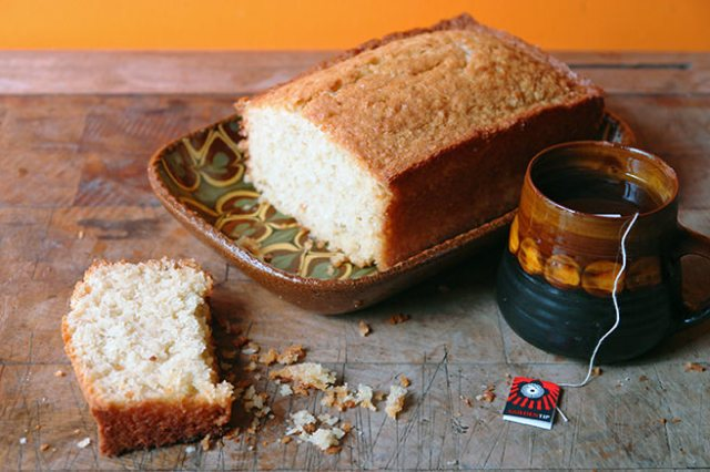 Home-made coconut loaf cake | H is for Home