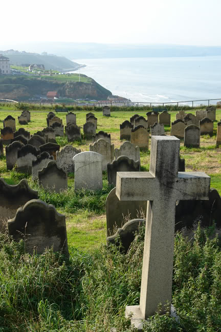 Graveyard, Whitby | H is for Home