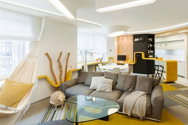 Curvaceous living space