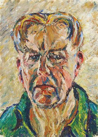 Self-portrait by Cyril Power