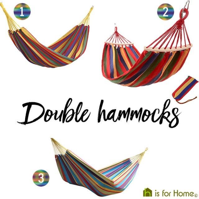 Selection of double hammocks | H is for Home