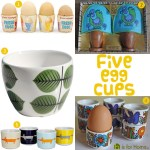 Gimme Five! Egg cups