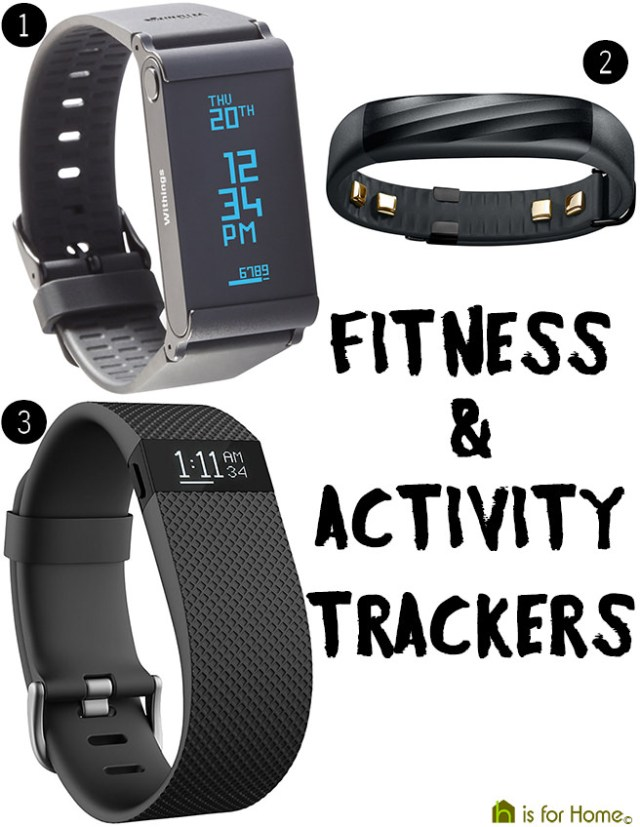 Fitness and activity trackers