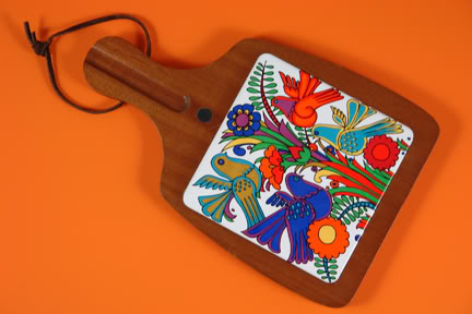 Vintage Acupulco chopping board by Villeroy & Boch | H is for Home