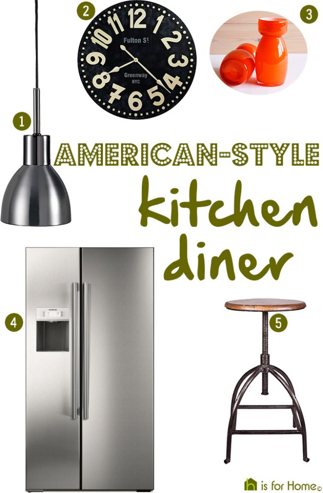 Get their look: American-style kitchen diner | H is for Home