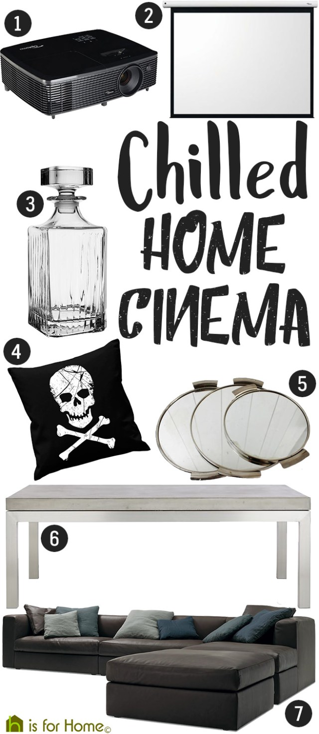 Get their look: Chilled home cinema | H is for Home