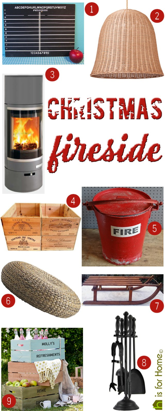 Get their look: Christmas fireside | H is for Home