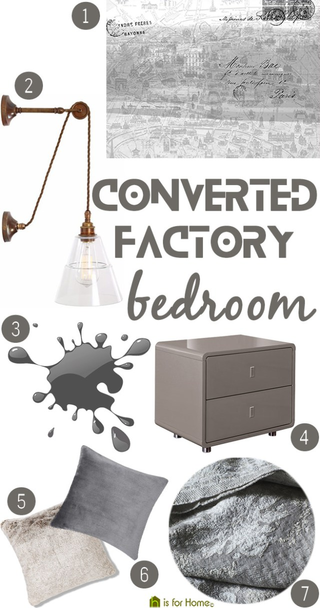 Get their look: Converted factory bedroom | H is for Home