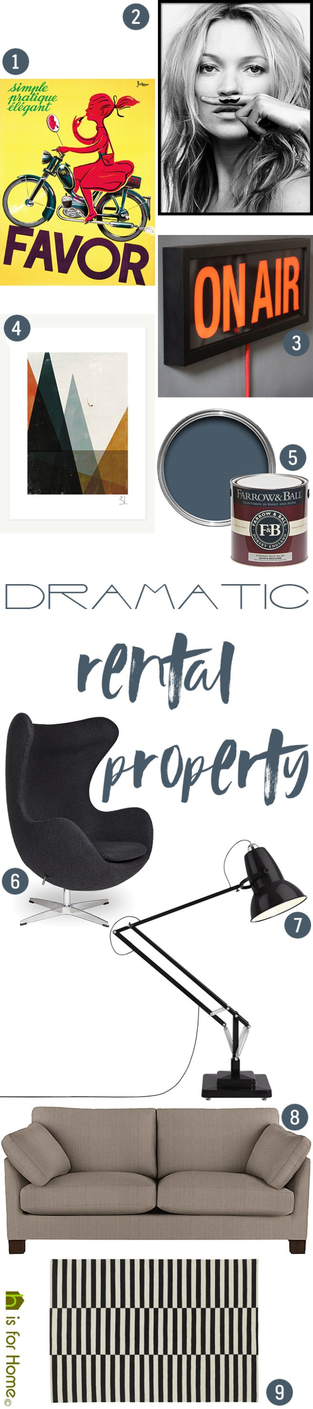 Get Their Look Dramatic Rental Property For Home