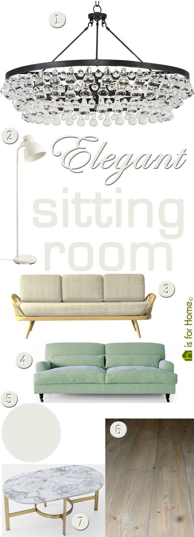 Get their look: Elegant sitting room | H is for Home