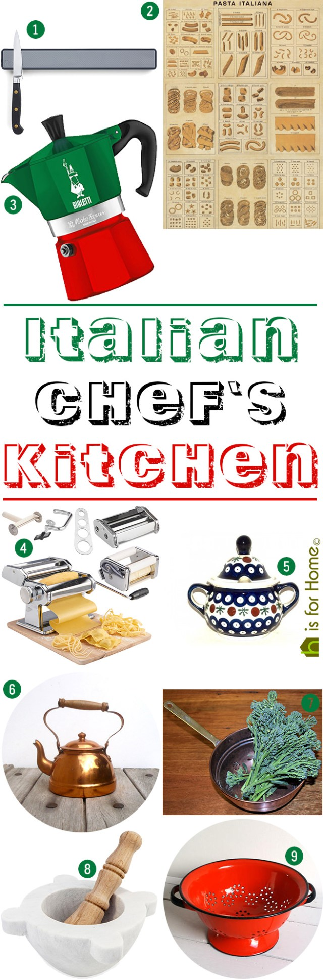 Get their look: Italian chef's kitchen | H is for Home