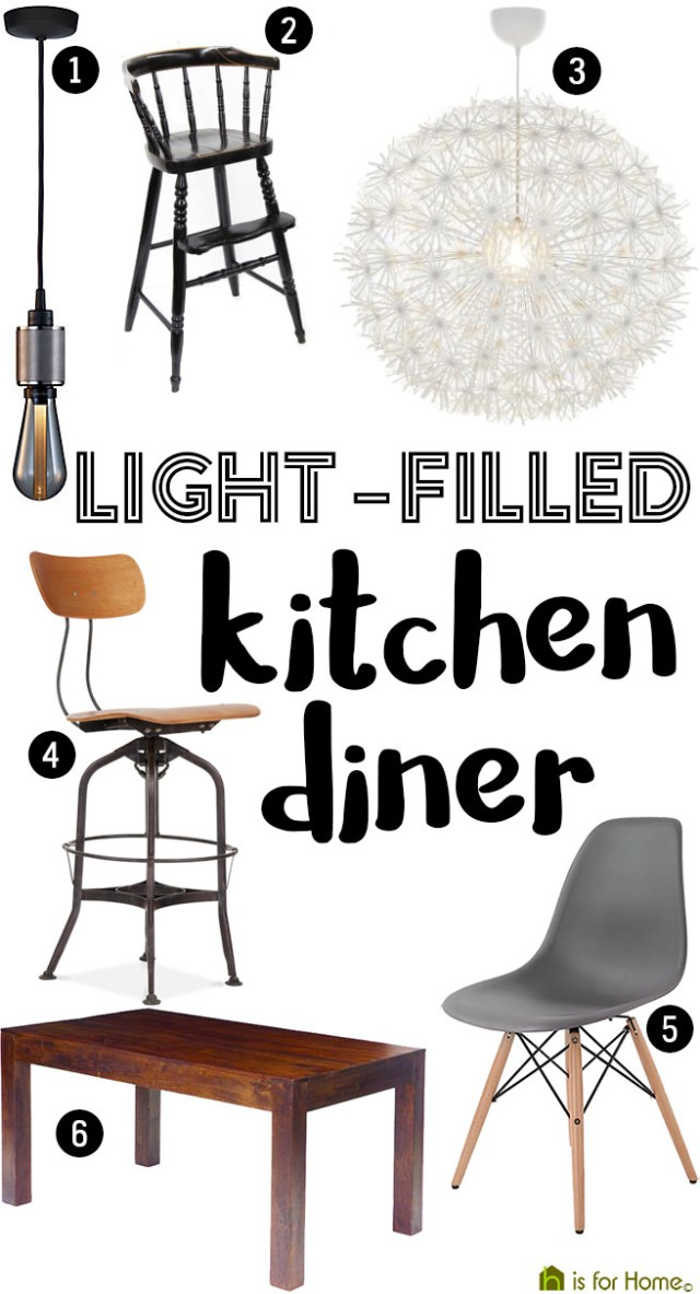Get their look: Light-filled kitchen diner | H is for Home