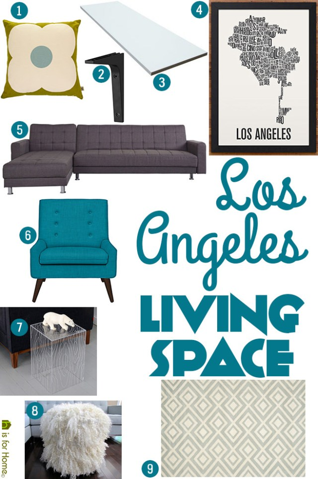 Get their look: Los Angeles living space | H is for Home