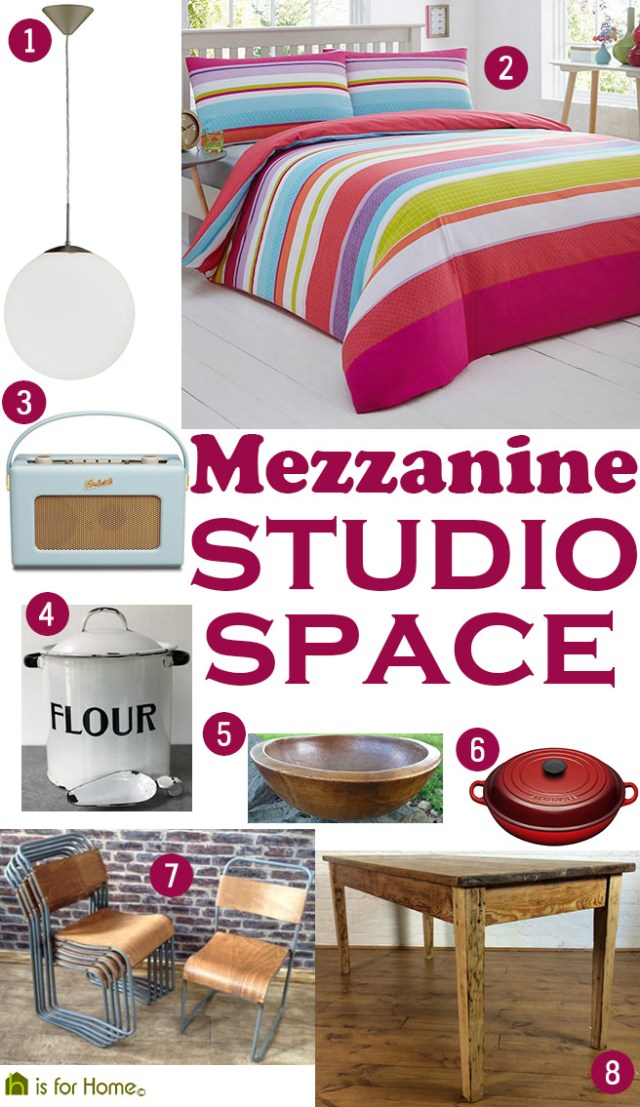 Get their look: Mezzanine studio space | H is for Home