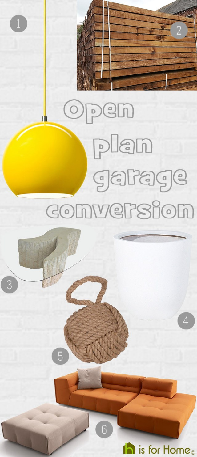 Get their look: Open-plan garage conversion | H is for Home