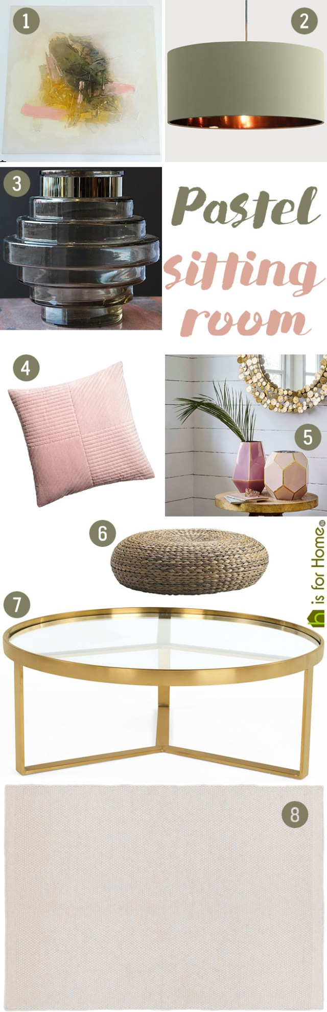 Get their look: Pastel sitting room | H is for Home