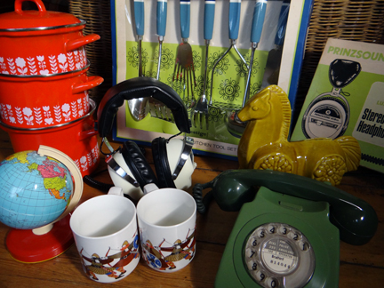 selection of recently acquired vintage homewares | H is for Home