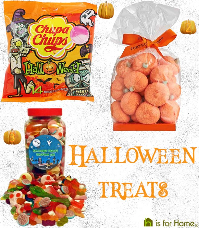 Selection of Halloween treats | H is for Home