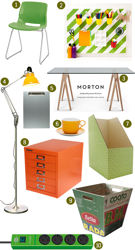 Monthly Mood Board Creative Home Office H Is For Home