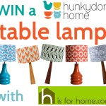 Win a Hunkydory Home table lamp