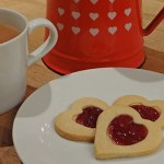 Cakes & Bakes: Jammie dodger hearts