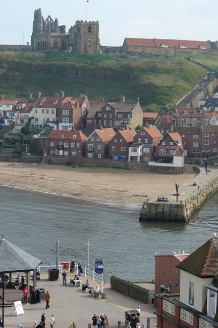 Jetty in Whitby Harbour | H is for Home