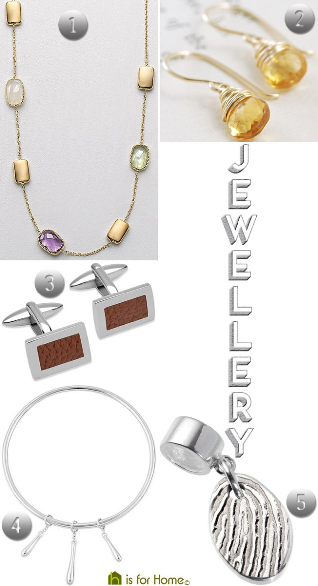 Christmas jewellery ideas   H is for Home