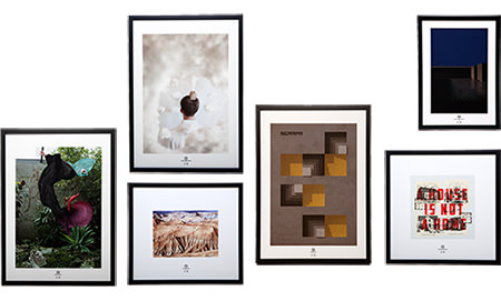 Selection of Just99 Limited edition art prints