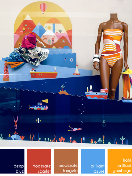 Lotta Nieminen shop window display design for Hermès | H is for Home