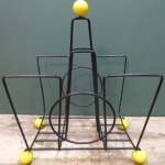 Charity Vintage: Atomic magazine rack