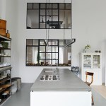 Get their look: Minimalist industrial kitchen