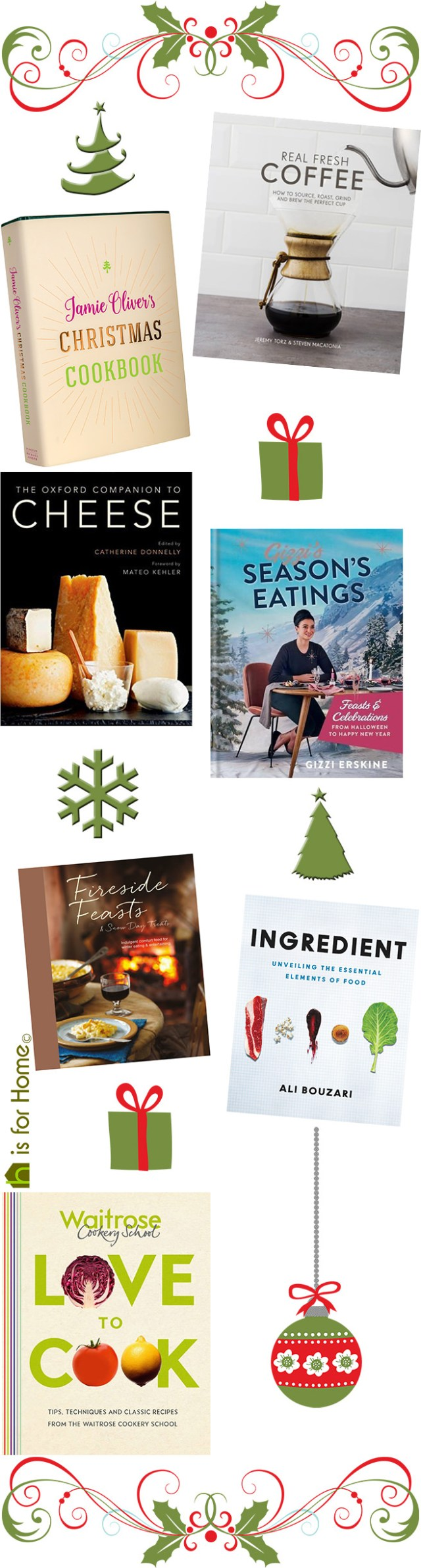Newly published foodie books | H is for Home