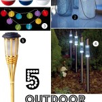 Gimme Five! Outdoor solar lights