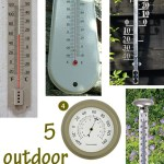 Gimme Five! Outdoor thermometers
