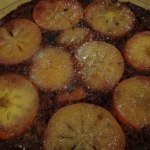 Cakes & Bakes: Persimmon & date upside-down cake