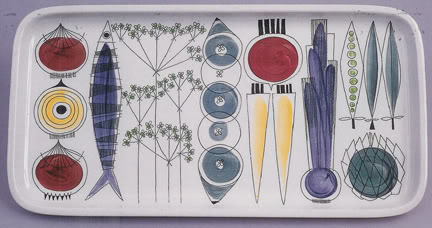 Rorstrand 'Picknick' serving tray