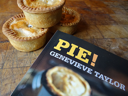 'Pie' book by Genevieve Taylor