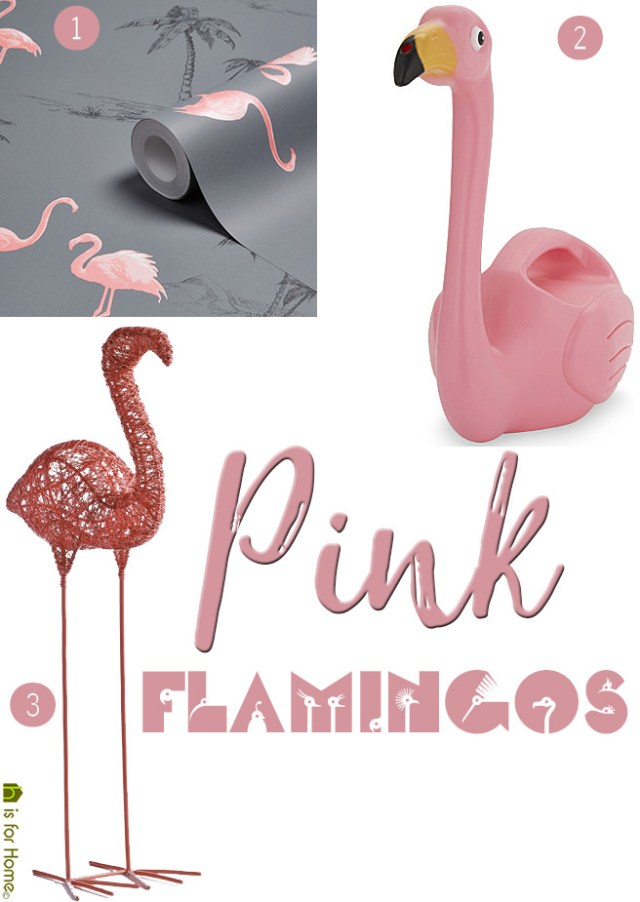 pink flamingos | H is for home