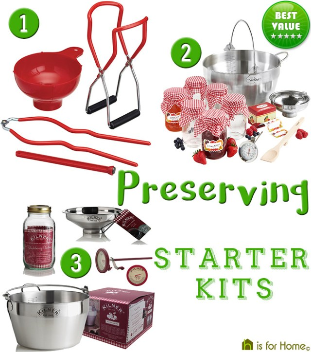Preserving starter kits | H is for Home