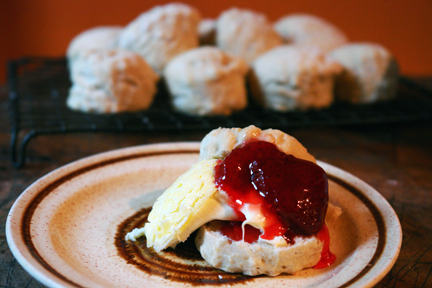 Afternoon scones