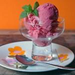 Redcurrant ice cream