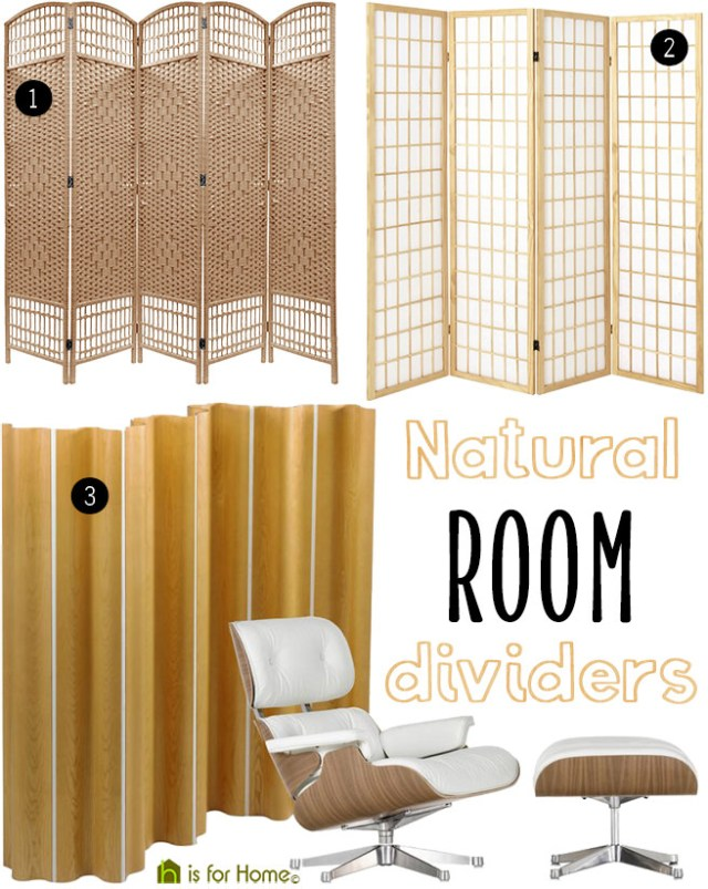 Natural room dividers | H is for Home