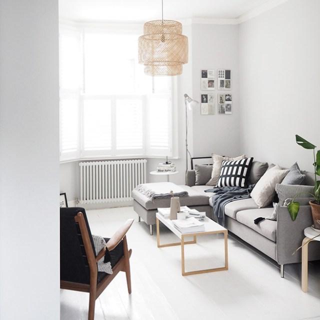 Scandi inspired living room