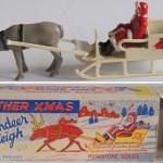 Charity Vintage: Morestone Santa, reindeer & sleigh